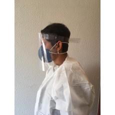 Máscara Facial Protetora Anti Respingos Face- Kit 5 Unidades