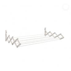 Varal Sanfonado - Aço - Branco 1m - Retrátil