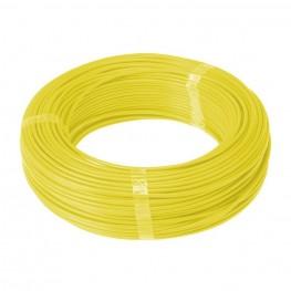 Cabo Flexível Cobre 1,5 mm² Rolos Com 100 m - Amarelo