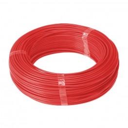 Cabo Flexível Cobre 6 mm² Rolos Com 100 m - Vermelho
