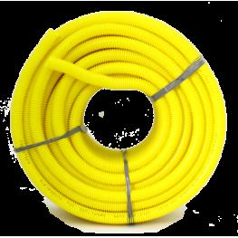 Conduíte Corrugado Amarelo 320N PVC 3/4  - 50 mts