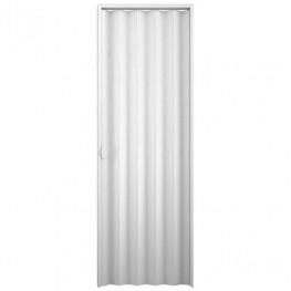 Porta Sanfonada Em PVC 0,60 x 2,10 m - Branca